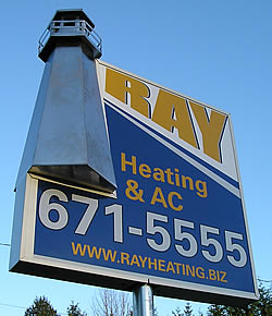 Ray Heating Sign